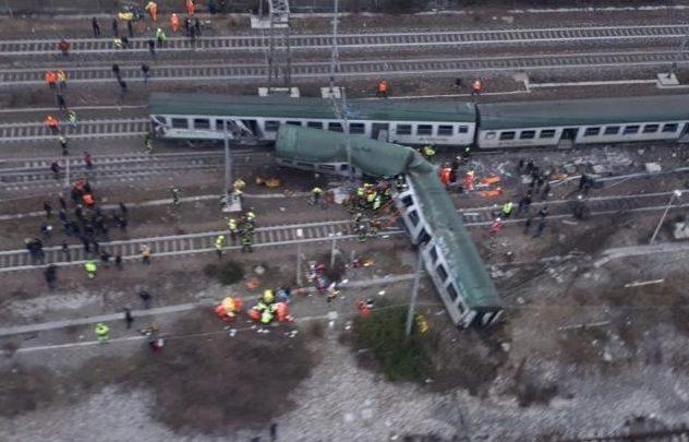 Treno deragliato pioltello milano