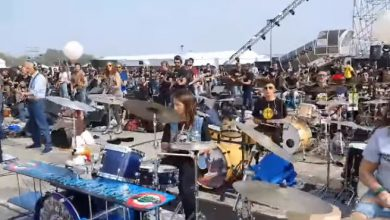 air show linate 1000 video musicisti