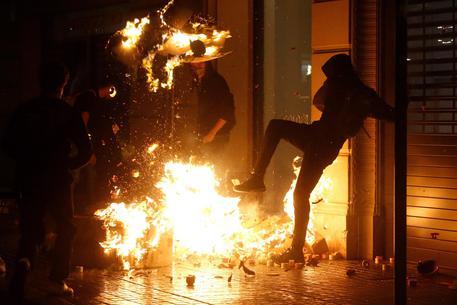 Barcellona scontri