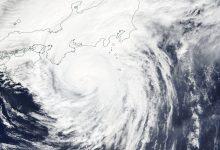 Giappone tifone