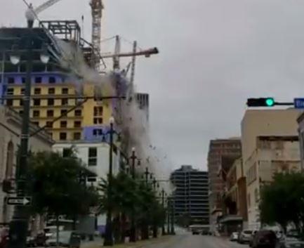 crollo hotel video new orleans