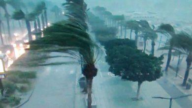 ibiza tornado video