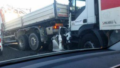 incidente brindisi lecce auto schiacciata