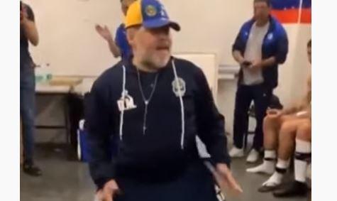 maradona balla gimnasia video