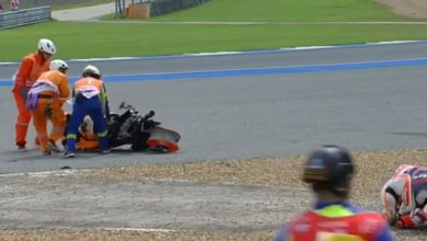 marquez video incidente