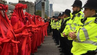 protesta londra extinction rebellion