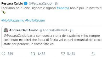 razzismo Pescara