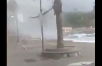tornado genova video