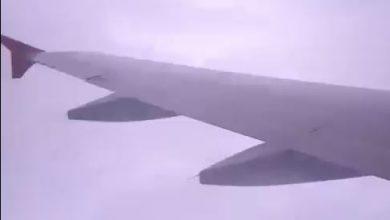 volo tempesta fulmini video
