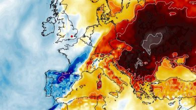 meteo weekend temperature