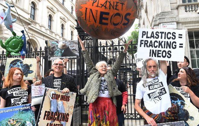 Inghilterra fracking