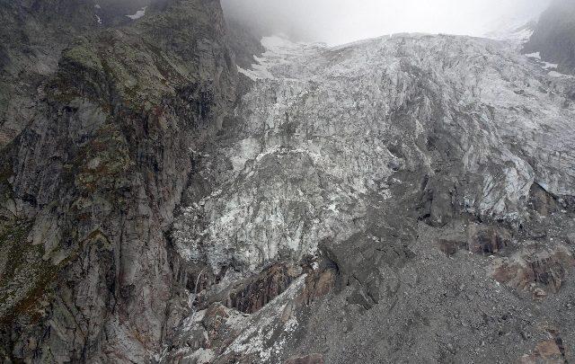 ghiacciaio Planpincieux monte bianco