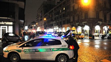 guardia giurata milano incidente