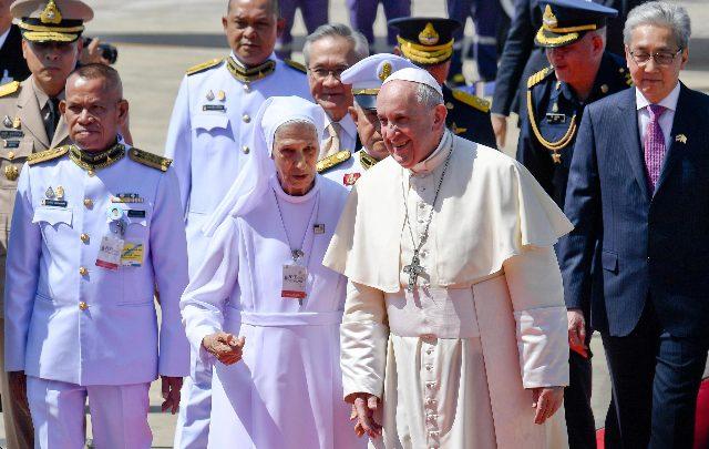 papa francesco bangkok