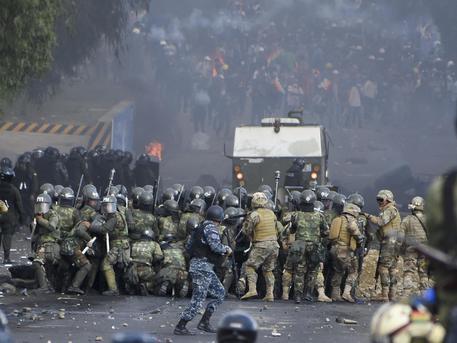 Bolivia scontri