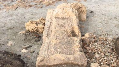 tomba antica scoperchiata dal maltempo