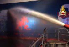 Livorno incendio
