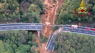 crollo viadotto a6