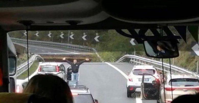 ponte a6 crollo