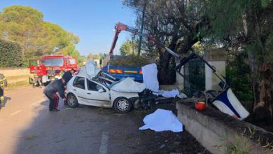Salento incidente