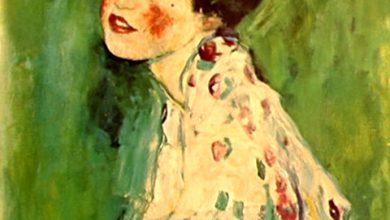 Klimt 'Ritratto di Signora'