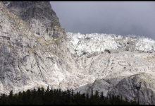 ghiacciaio Planpincieux sul Monte Bianco