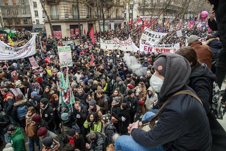 Francia scioperi manifestazioni