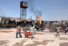 Sudan incendio