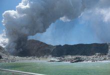 Nuova Zelanda vulcano