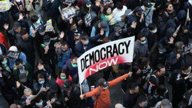 Hong Kong proteste democrazia
