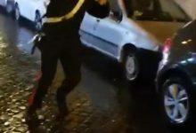 ultras lazio aggredisce carabiniere