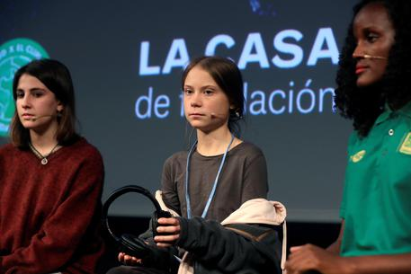 Greta Thunberg Clima cop25