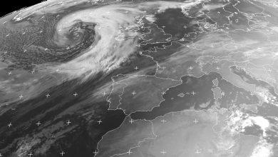 Irlanda ciclone Brendan
