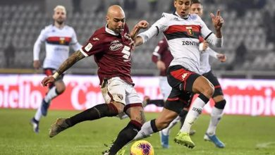 Il Torino vince 6-4 ai rigori negli ottavi di Coppa Italia contro il Genoa.