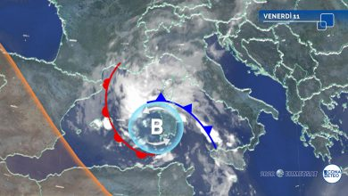 maltempo venerdì 11 settembre meteo